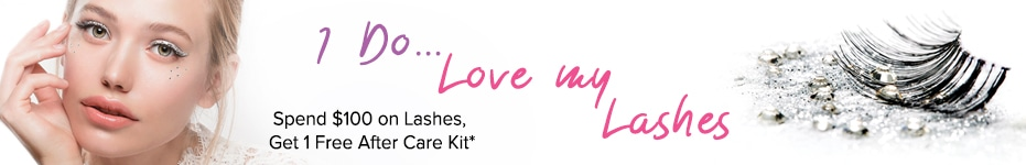 I Do... Love My Lashes - Spend $100 on Lashes, Get 1 Free After Care Kit, Valued at $29.99