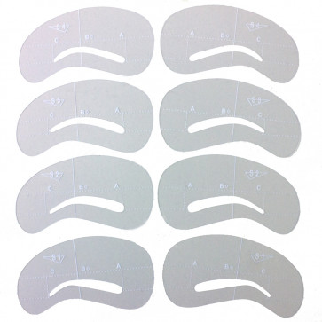 Eyebrows on Point Stencil Kit