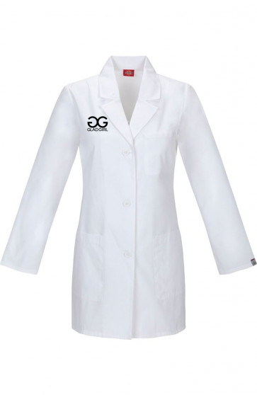 GladGirl Professional Eyelash Artist, Spa and Salon Lab Coat