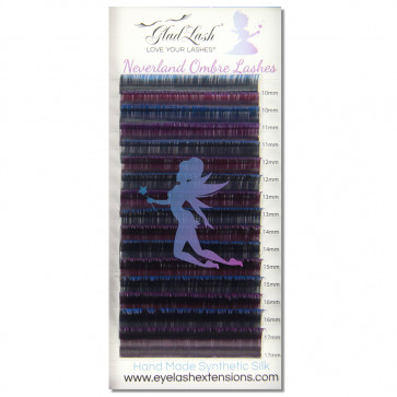 Neverland Ombre Two Tone Silk Lashes
