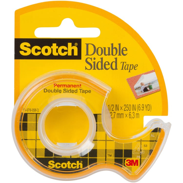 3m scotch double sided tape On scotch double face miroir