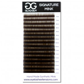 GladGuy Lashes - B Curl, .10 x 7mm - 12mm