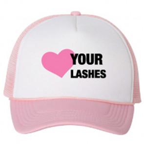Lash Lid Soft Pink Hat