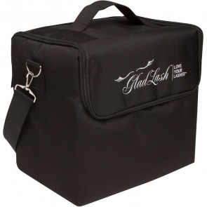 Professional Lash & Brow Travel Case - Black