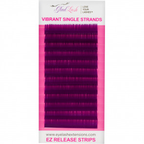 Purple Reign Lashes - on the tray