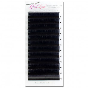 Ellipse Flat Lash Extra Black Premium Sable