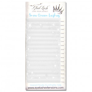 Snow Queen Silk White Lashes
