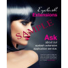 Eyelash Extensions, Black - Poster