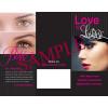 Eyelash Extensions Tri-fold - 25 per Quantity