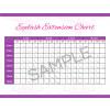 Eyelash Extension Chart