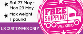 Free Shipping Weekend - US Customers Only