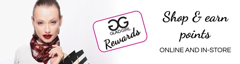 GladGirl Rewards loyalty program for lash professionals