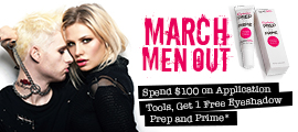 Spend $100 on Application Tools, Get 1 Free Eyeshadow Prep and Prime