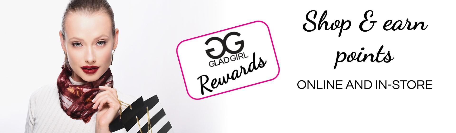 GladGirl Rewards