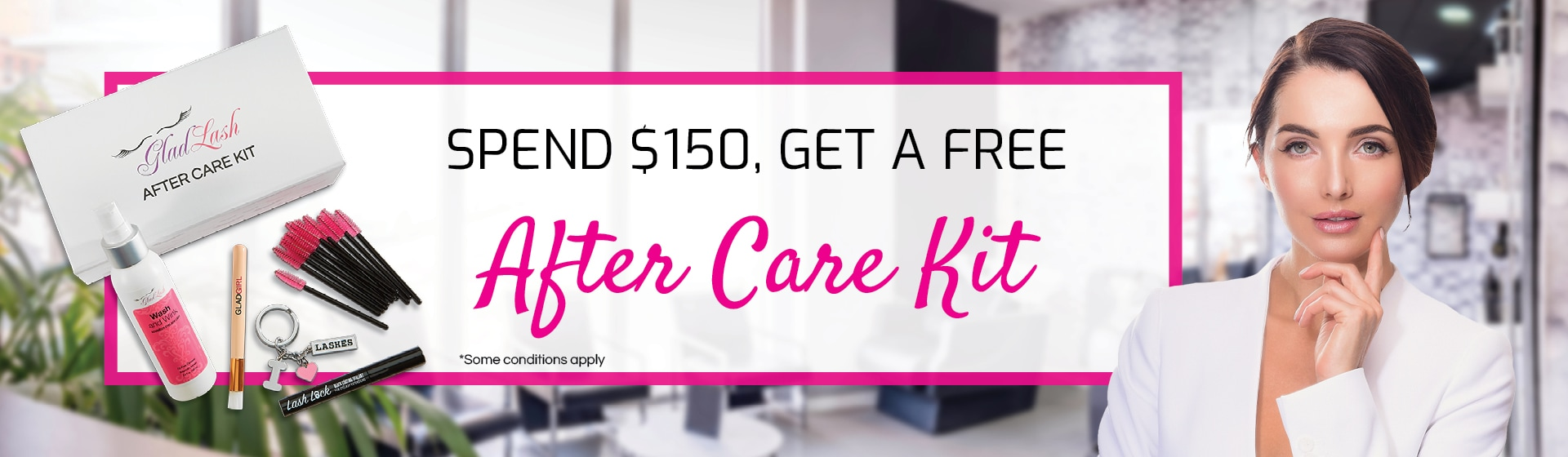 Spend $150 get a free After Care Kit