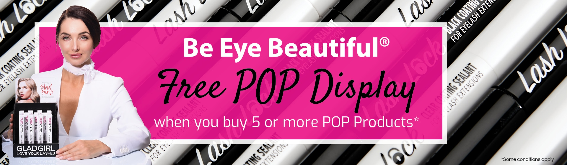 Free POP Display when you buy 5 POP Products